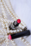 Lipstick. Used in makeup lipstick lips Stock Image