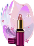 Lipstick. Vector illustration Royalty Free Stock Photos