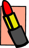 Lipstick vector illustration Royalty Free Stock Image