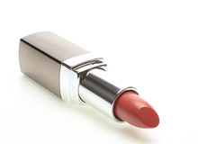Lipstick in a white background Stock Images