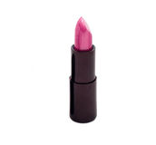Lipstick on white background. pink colour Royalty Free Stock Photography
