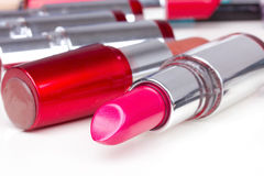 Lipsticks Stock Images