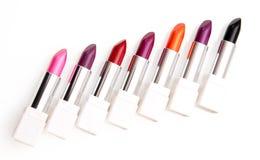 Lipsticks. Isolated on white background Stock Image