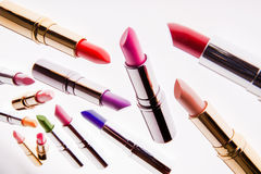 lipsticks Photo libre de droits