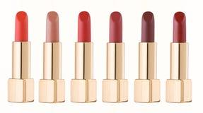 Lipsticks colors of the season Royalty Free Stock Photo