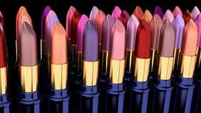 Lipsticks stock footage