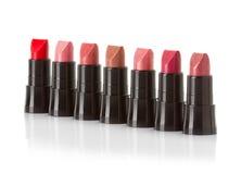 Lipsticks isolated on white Stock Images