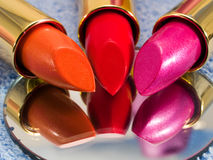 Lipsticks Stock Photography
