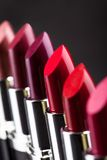Lipsticks in a row Stock Image