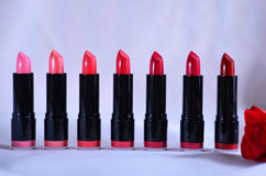 Lipsticks. Used in makeup lipstick lips Royalty Free Stock Image