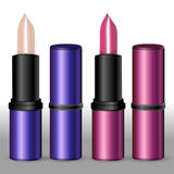 Lipsticks. Royalty Free Stock Photos