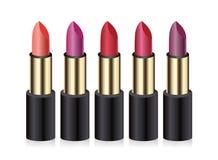 Lipsticks. Vector illustration. Royalty Free Stock Image