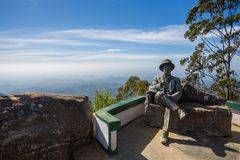Lipton` s Seat gezichtspunt, Haputale, Sri Lanka royalty-vrije stock fotografie