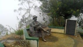Lipton ` s siedzenie w Haputhale Sri lance zdjęcie stock