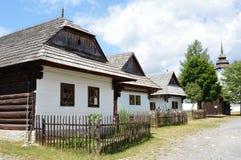 Liptov-Dorfmuseum Stockbild