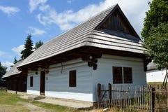 Liptov-Dorfmuseum Lizenzfreies Stockfoto