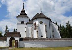 Liptov village museum Royalty Free Stock Images