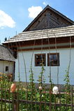 Liptov village museum. Old house in liptov village museum in Pribylina in Slovakia Royalty Free Stock Image