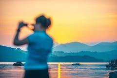 liptovska mara Σλοβακία λιμνών στοκ φωτογραφίες με δικαίωμα ελεύθερης χρήσης