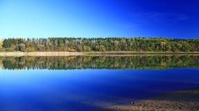 Liptovska Mara. Water reflection on water basin Liptovska Mara, Slovakia stock images