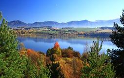 Liptovska Mara. Water basin in region Liptov, Slovakia stock image