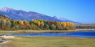 Liptovska Mara. Water basin in region Liptov, Slovakia stock images