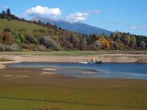 Liptovska Mara e Rohace, Eslováquia imagem de stock