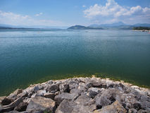 Liptovska Mara lake in summer Stock Photo