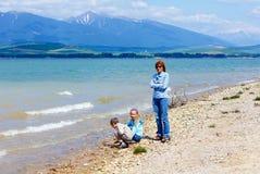 Liptovska Mara reservoir Royalty Free Stock Photography