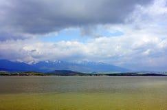 liptovska mara slovakia för lake ii Arkivbilder