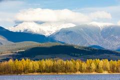 Liptovska Mara, Slovakia. Liptovska Mara with Western Tatras at background, Slovakia Royalty Free Stock Photography