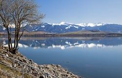 Liptovska Mara - water basin in region Liptov Stock Photography