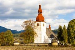 Liptovske Matiasovce, Eslovaquia Fotos de archivo libres de regalías