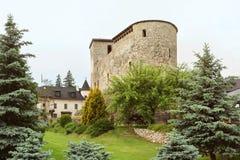 Liptovsky Hradok, Slovacchia - 27 maggio 2018: Castello immagini stock