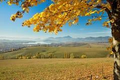 Liptovsky Mikulas, Haj - Nicovo, Slovakia. A view of Haj-Nicovo the dam Liptovska Mara Royalty Free Stock Photos