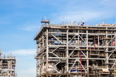 Liquefied natural gas Refinery Factory Royalty Free Stock Image
