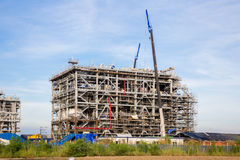 Liquefied natural gas Refinery Factory Royalty Free Stock Images