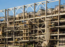 Liquefied natural gas Refinery Factory Royalty Free Stock Photo
