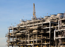 Liquefied natural gas Refinery Factory Stock Image