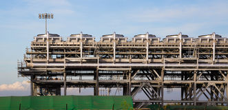 Liquefied natural gas Refinery Factory Stock Photos