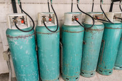 Liquefied petroleum gas or LPG Stock Images