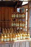 Liqueur bootles Stock Image