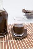 Liqueur de chocolat images libres de droits
