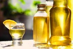 Liqueur de citron Photos stock