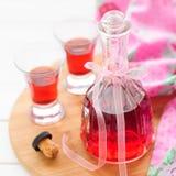 Liqueur de framboise Image stock