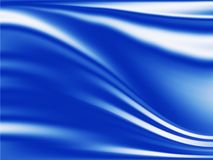 Liquid blue background Stock Images