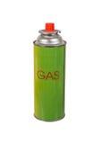 Liquid butane gas can Stock Photo