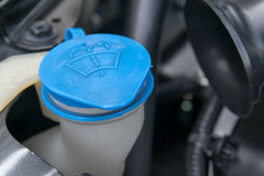 The liquid cap in car engine Stock Photo