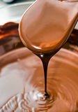Liquid Chocolate. Stock Images