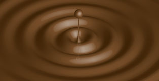 Liquid chocolate - Stock Photos